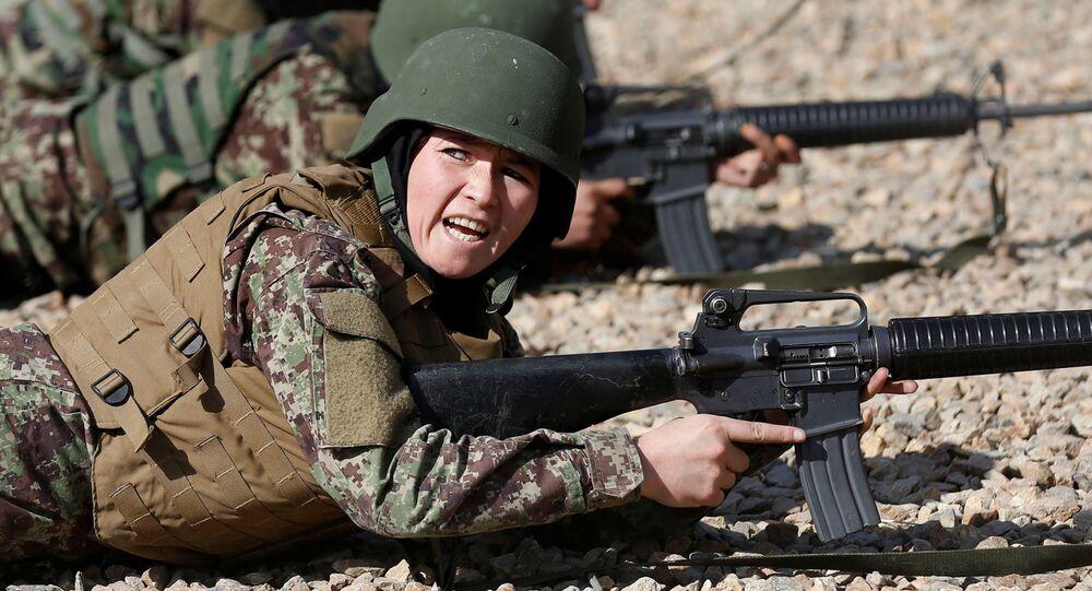 Kobiecy oddział armii w Afganistanie, Kabul