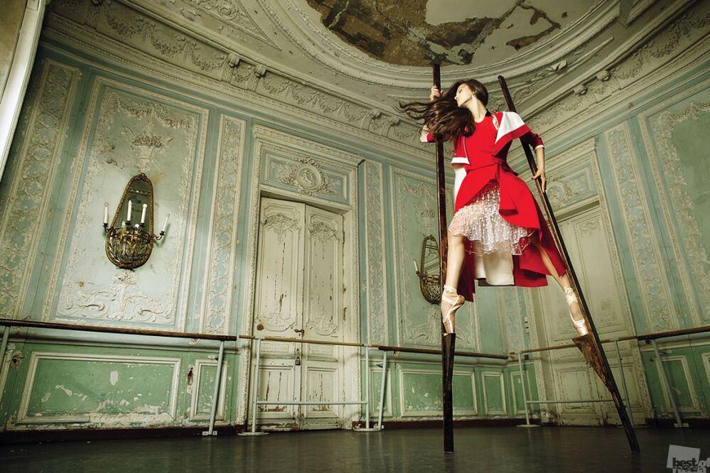 Zdjęcie Balerina. Autor: Maria Abaszowa. Kategoria: Styl