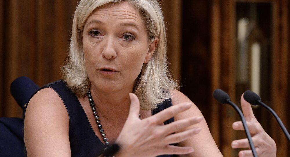 Francuska polityk Marine Le Pen
