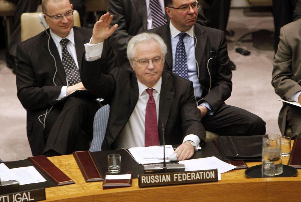 """Stałe przedstawicielstwo Wielkiej Brytanii przy ONZ: """"Witalij Czurkin był trzonem Rady Bezpieczeństwa ONZ przez ponad 10 lat""""."""