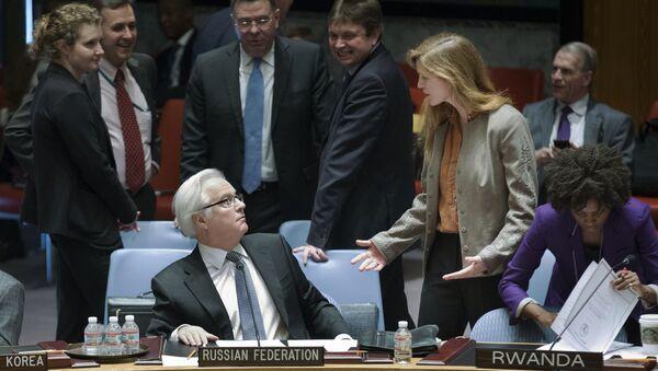 Ambasador Rosji przy ONZ Witalij Czurkin - Sputnik Polska
