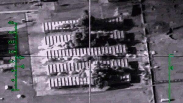 Bombardowania pozycji terrorystów przez rosyjskie siły powietrzne w Syrii - Sputnik Polska