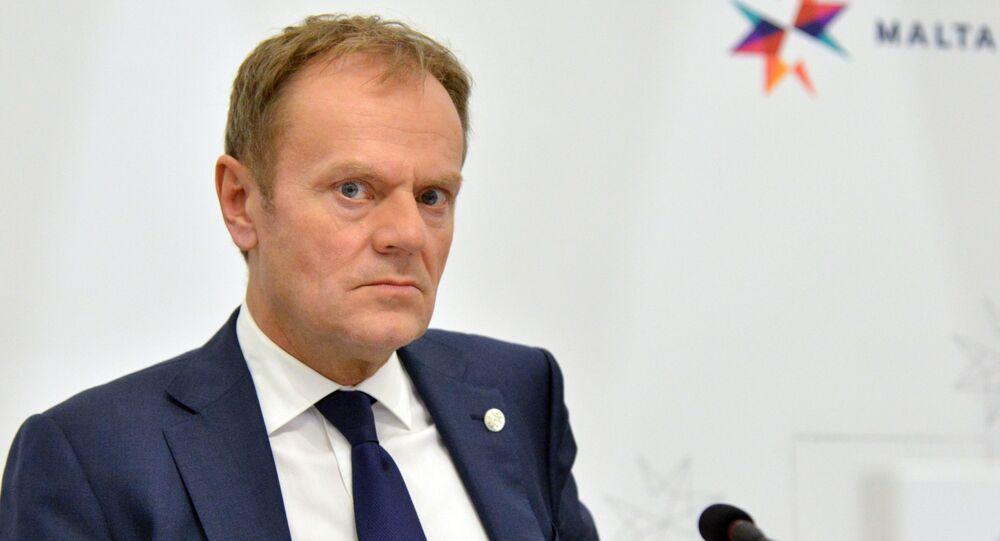Przewodniczący Rady Europejskiej Donald Tusk na nieformalnym szczycie przywódców UE na Malcie