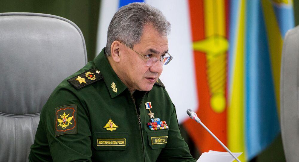 Rosyjski minister obrony Siergiej Szojgu