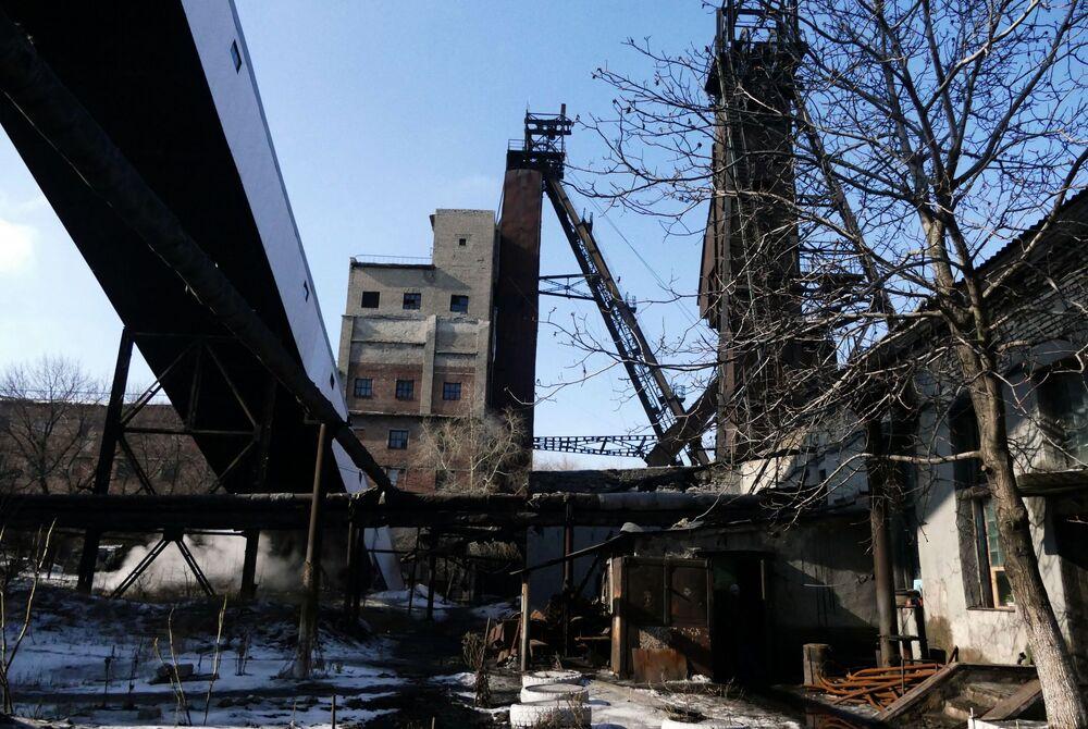 Kopalnia Makiejewugol w obwodzie donieckim