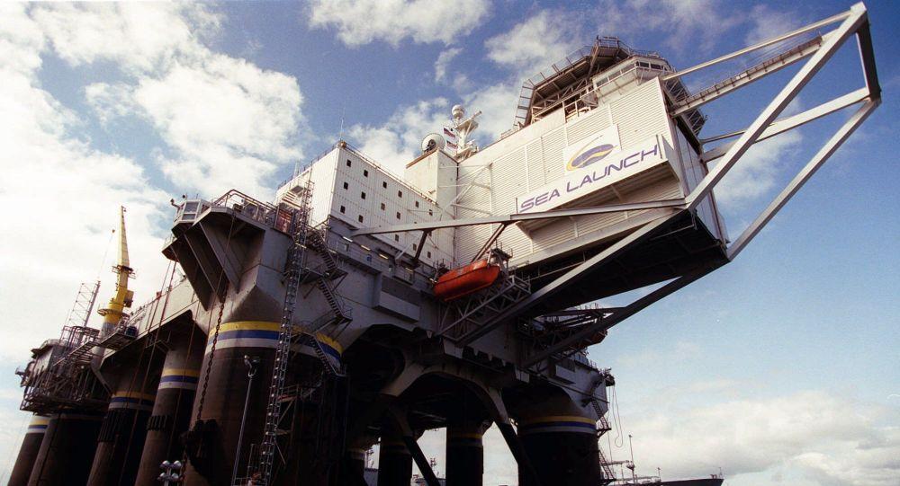 Pływająca platforma startowa Sea Launch