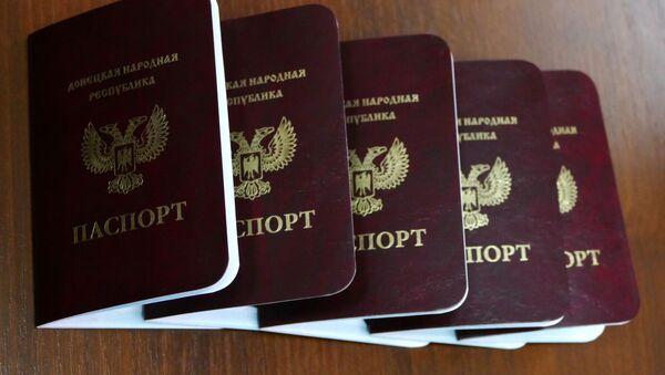 Paszporty obywateli DRL - Sputnik Polska