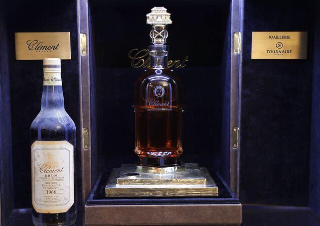 Najdroższa na świecie butelka rumu