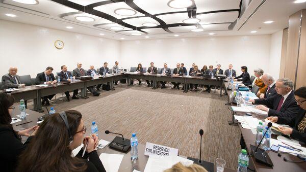 Pertraktacje w Genewie w sprawie Syrii. Zdjęcie archiwalne - Sputnik Polska