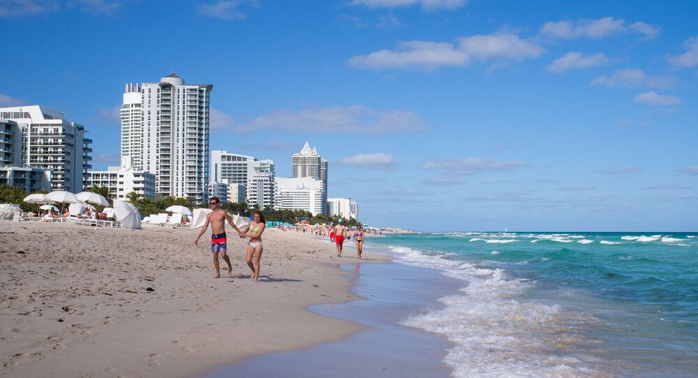 Plaża w Miami, USA