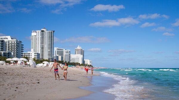 Plaża w Miami, USA - Sputnik Polska
