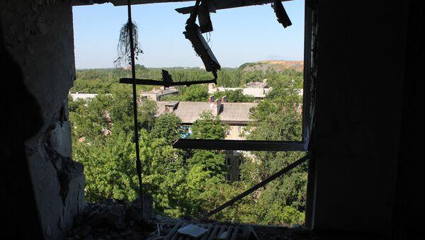 Donieck po ostrzale - Sputnik Polska
