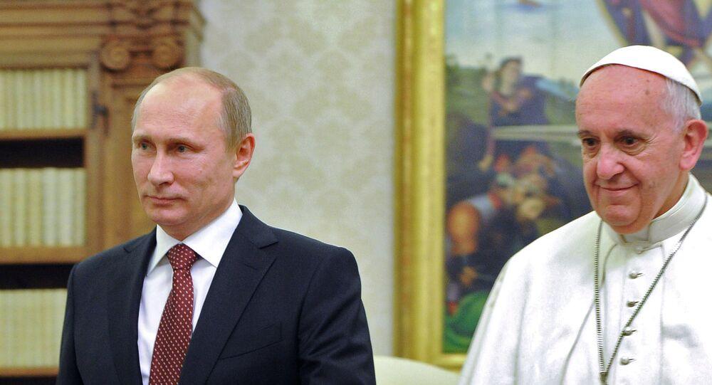 Wizyta Władimira Putina w Watykan, 25 listopada 2013
