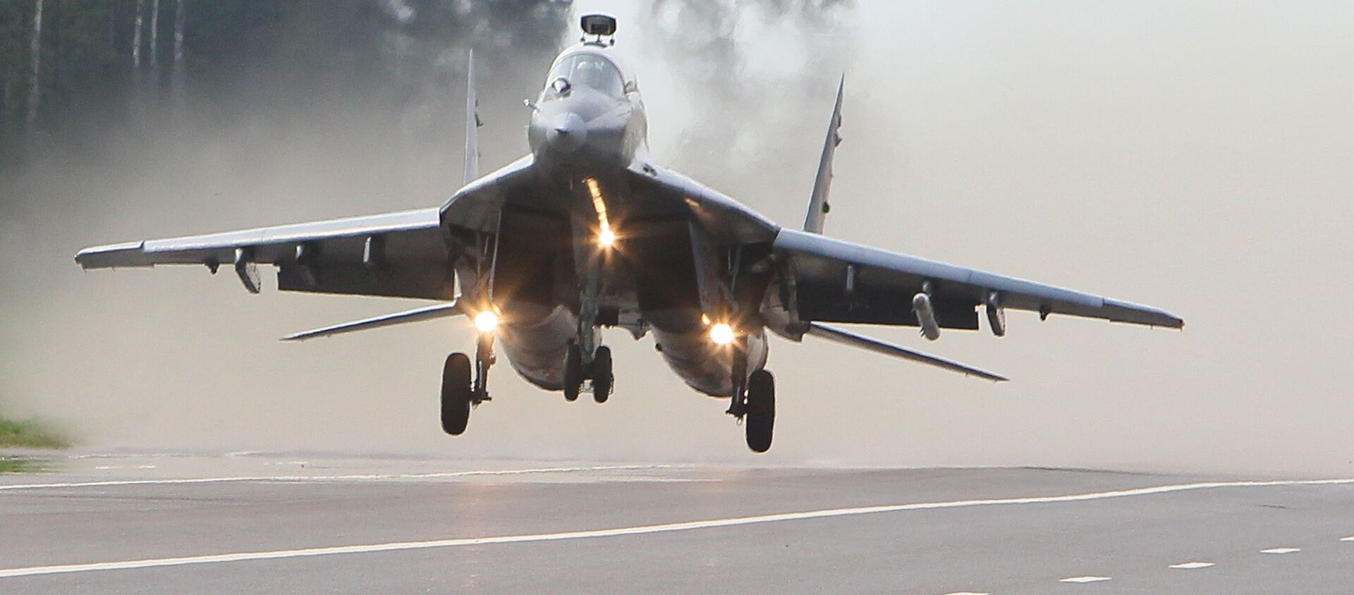 Samolot MiG-29 białoruskich sił powietrznych - Sputnik Polska, 1920, 03.06.2021