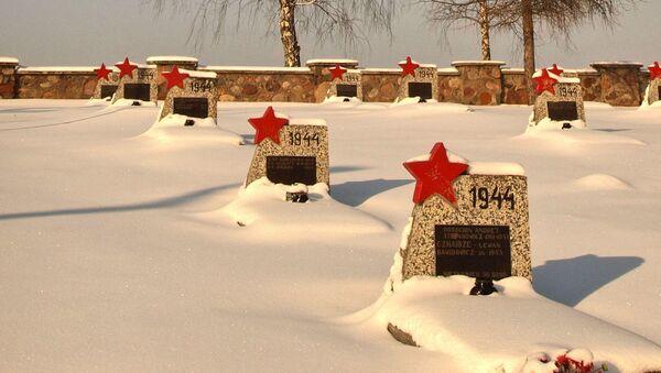 Cmentarz żołnierzy radzieckich w Milejczycach - Sputnik Polska