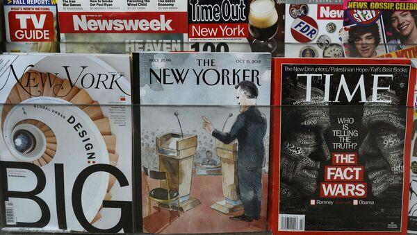 Tygodnik The New Yorker - Sputnik Polska