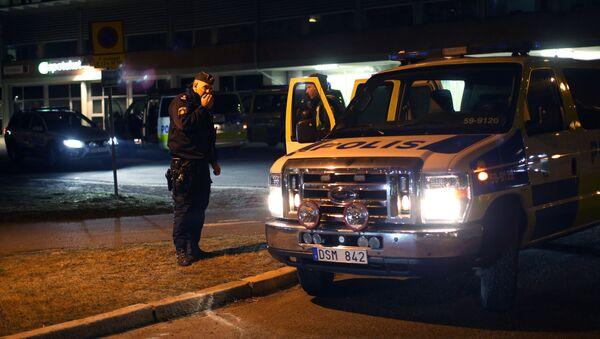 Szwedzka policja - Sputnik Polska