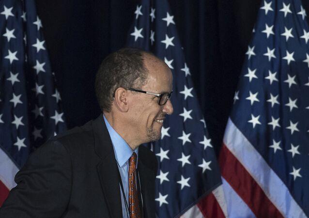 Były minister pracy Tom Perez został nowym przewodniczącym Krajowego Komitetu Partii Demokratycznej