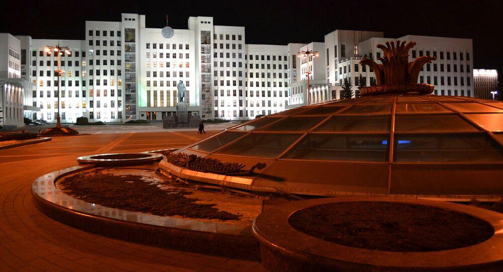 Siedziba parlamentu Republiki Białorusi w Mińsku