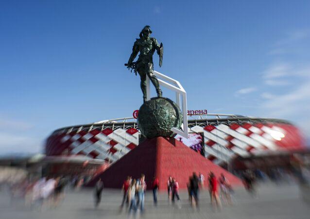 Stadion Otkrytije Arena w Moskwie o pojemności  43 298 osób