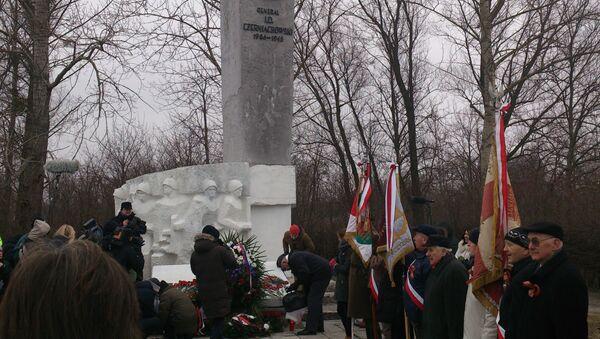 Ceremonia upamiętniająca generała Czerniachowskiego - Sputnik Polska