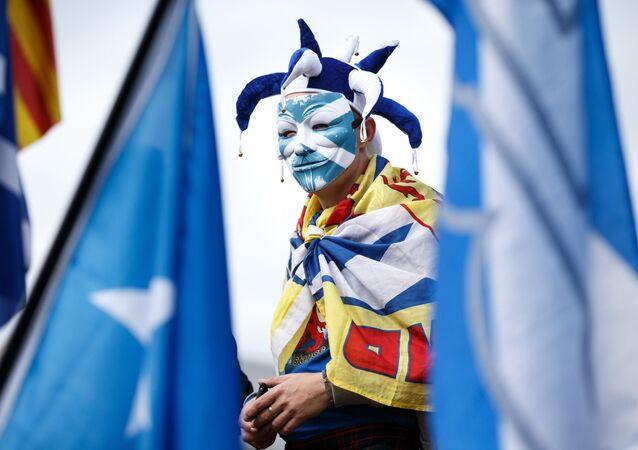 Marsz niepodległości w Szkocji