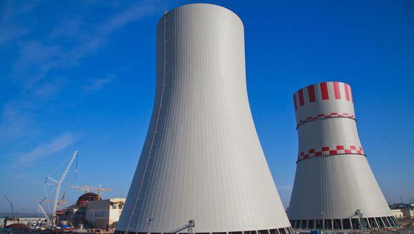 Powstający siódmy blok Nowoworoneskiej Elektrowni Jądrowej - Sputnik Polska