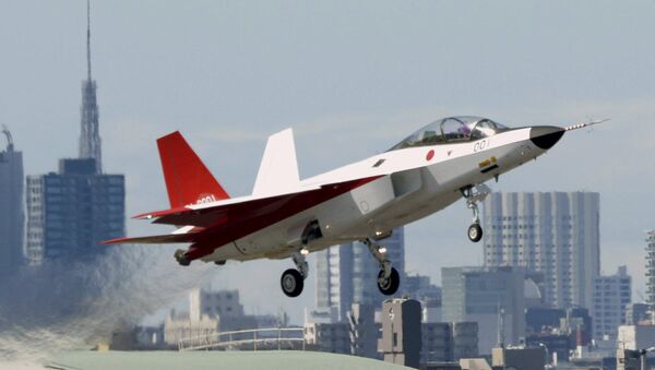 A prototype of the first Japan-made stealth fighter X-2 Shinshin, formerly called ATD-X  - Sputnik Polska