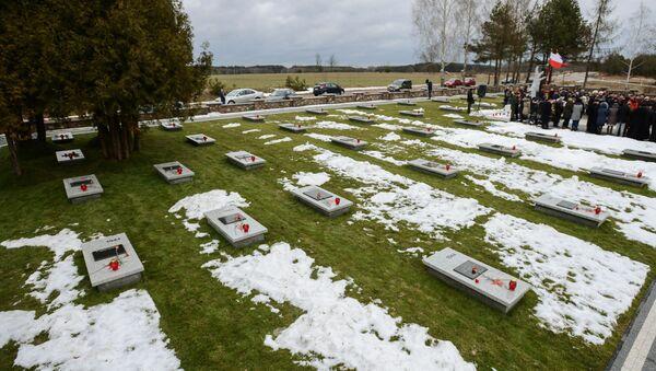 Cmentarz żołnierzy Armii Czerwonej w Polsce - Sputnik Polska