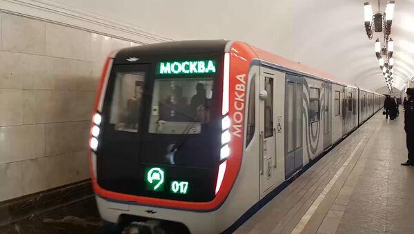 """Pierwszy pociąg metra """"Moskwa"""" - Sputnik Polska"""