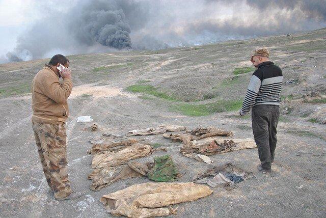 Na południu Mosulu odnaleziono zbiorową mogiłę