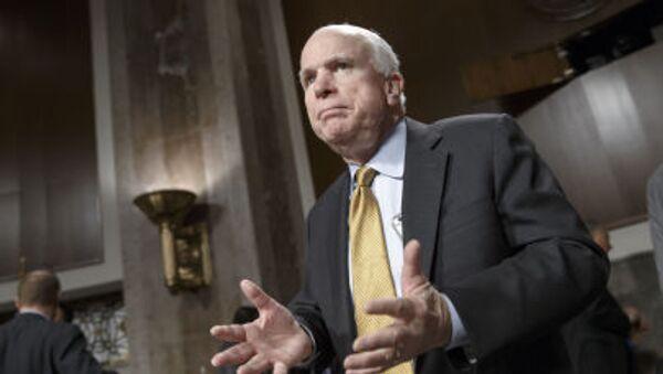 Amerykański senator John McCain - Sputnik Polska