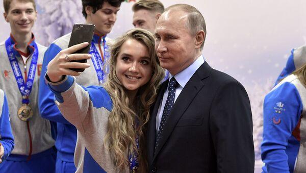 Fotogeniczni światowi liderzy - Sputnik Polska