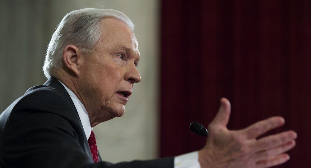 Sekretarz sprawiedliwości i prokurator generalny USA Jeff Sessions