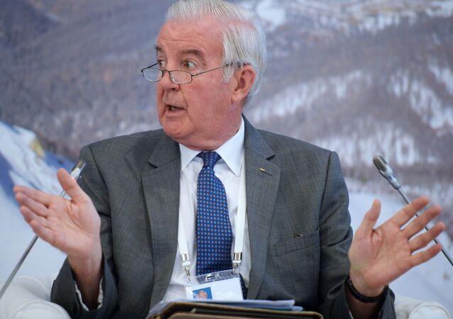 """Craig Reedy na konferencji Międzynarodowego Komitetu Olimpijskiego """"Sport i Środowisko"""" w Soczi"""