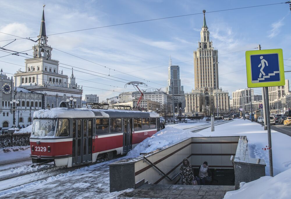 Budynek hotelu wyróżnia się stylem architektonicznym, który ma wiele wspólnego z barokiem w wydaniu Naryszkina.