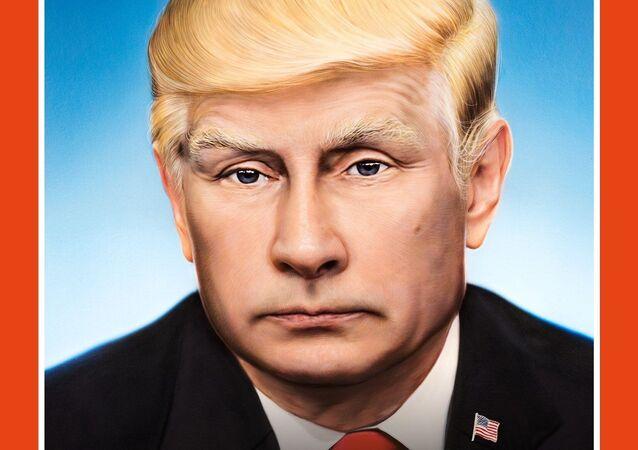 Gazeta Der Spiegel. Na okładce Władimir Putin z fryzurą à la Donald Trump