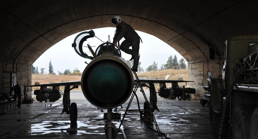 Baza lotnicza Hama w Syrii