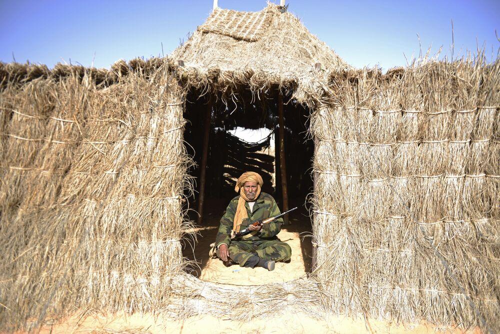 Wał zachodniosaharyjski oddzielający tereny Maroku od Sahary Zachodniej