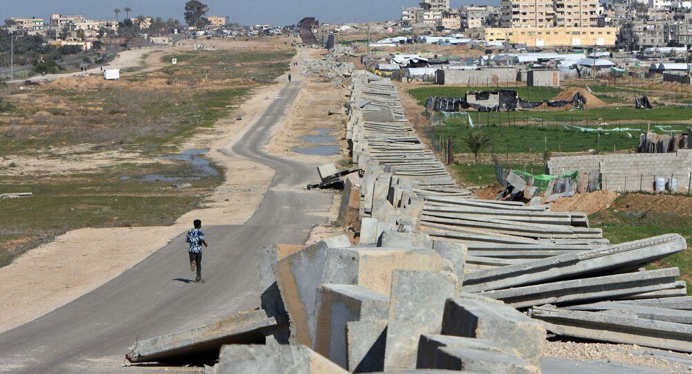 Granica egipsko-palestyńska