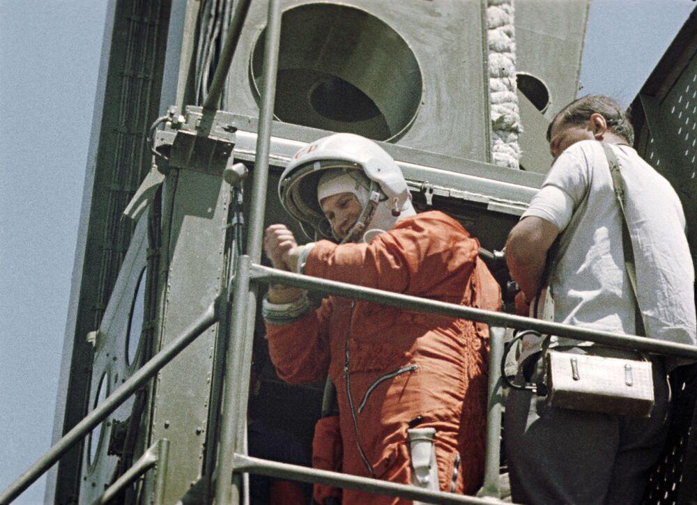 Do lotu na statku Wostok-6 Tierieszkowa przygotowywała się od stycznia do maja 1963 roku.