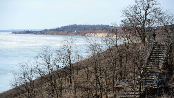 Wybrzeże Morza Azowskiego w pobliżu Mariupola. Zdjęcie archiwalne - Sputnik Polska