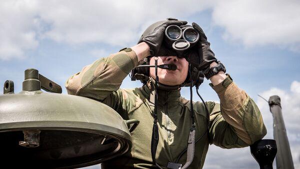 Żołnierz norweskiej armii - Sputnik Polska