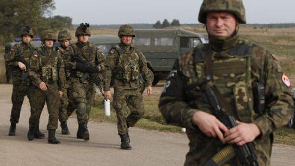 Polscy żołnierze na manewrach w Polsce - Sputnik Polska