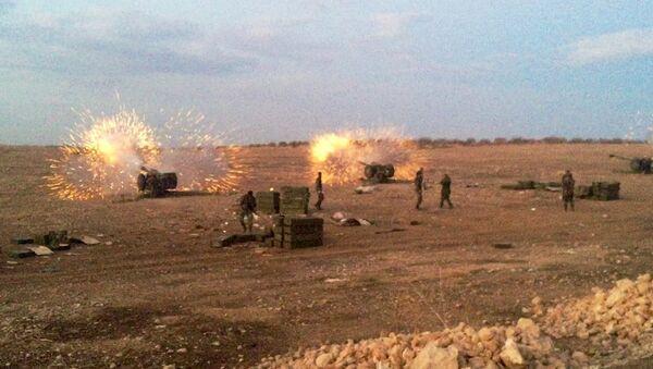 Syryjska armia na północy prowincji Hama - Sputnik Polska