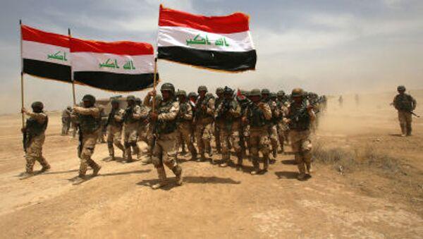 Irakijscy żołnierze w Bagdadzie - Sputnik Polska
