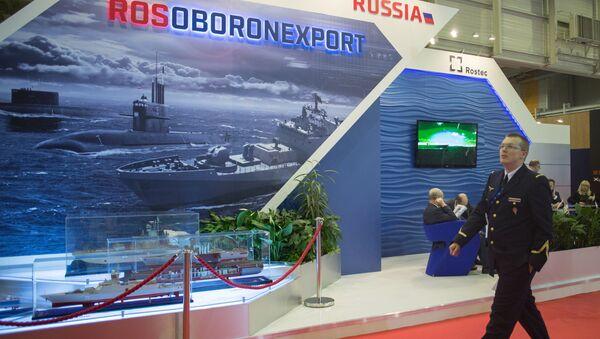 Rosoboroneksport na międzynarodowej wystawie sprzętu wojenno-morskiego EURONAVAL w Paryżu - Sputnik Polska