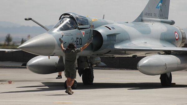 Francuski myśliwiec Mirage - Sputnik Polska