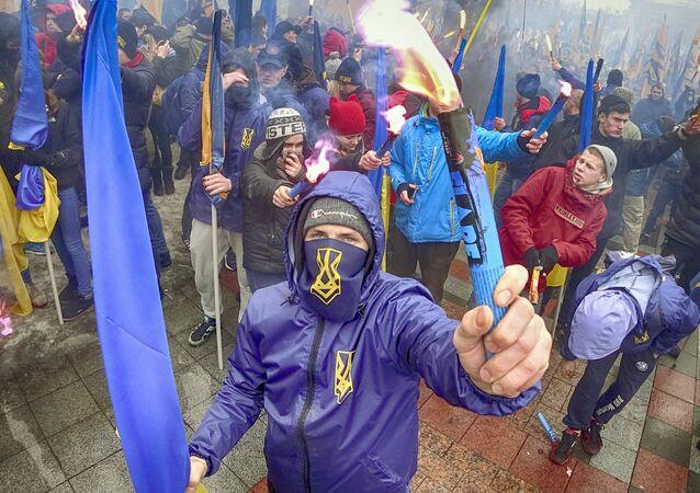 Radykaliści na Ukrainie