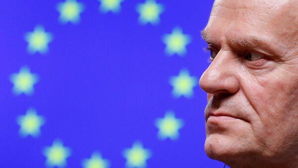 Przewodniczący Rady Europejskiej (RE) Donald Tusk - Sputnik Polska